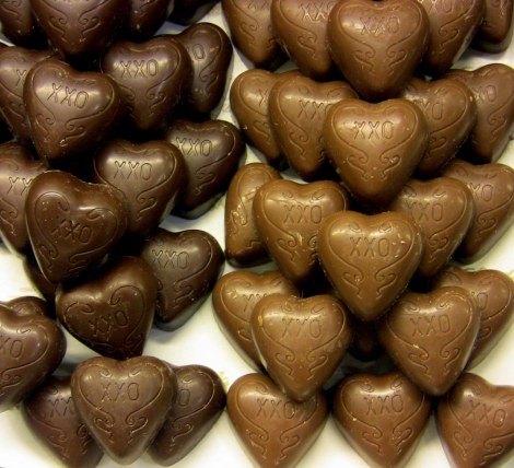 chocolate heart @sssourabh