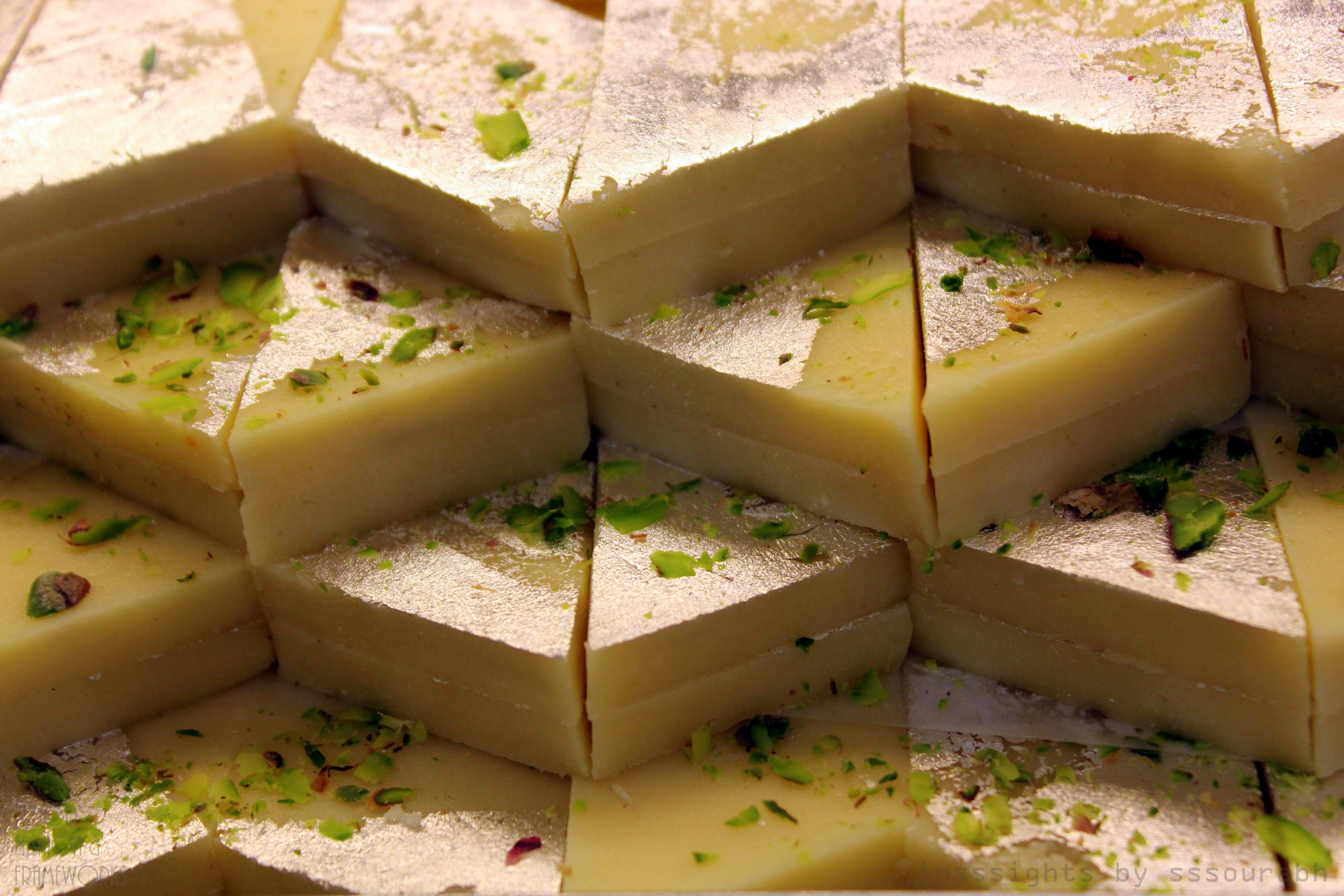 spinoff is the kesar kaju barfi , which includes doses of flavorful ...