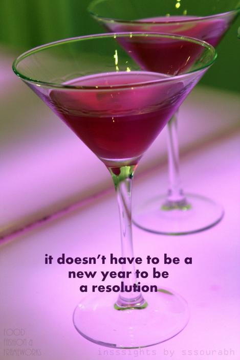 new year resolution @sssourabh