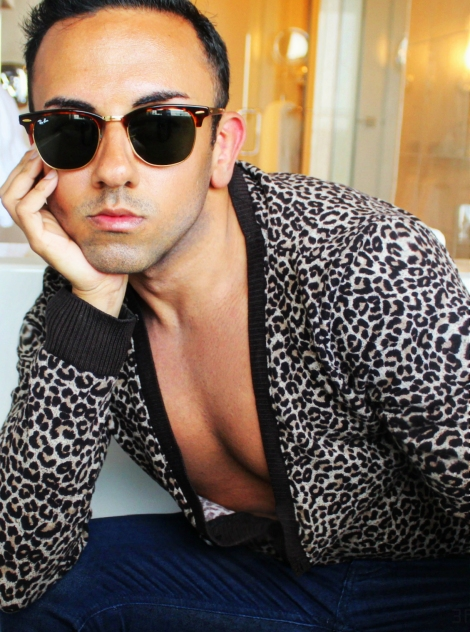 leopard menswear @sssourabh