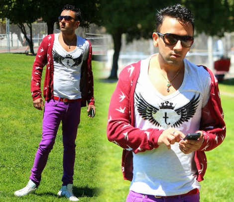 lookbook orchid purple @sssourabh
