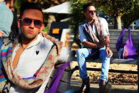 lookbook orchid purple @sssourabh
