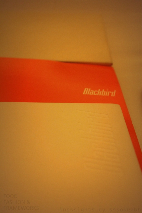 blackbird chicago tasting menu @sssourabh