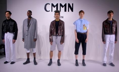 cmmn sweden capsule show new york fashion week mens nyfwm @sssourabh