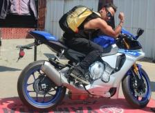 san francisco street food festival sfsff @sssourabh menswear biker boy