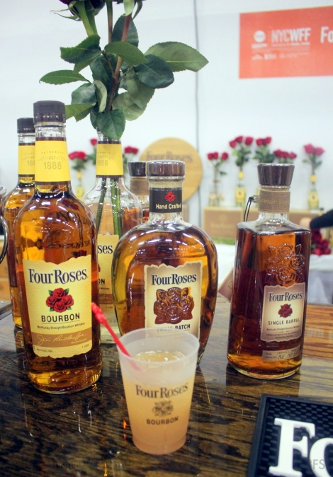 nycwff grand tasting four roses bourbon @sssourabh