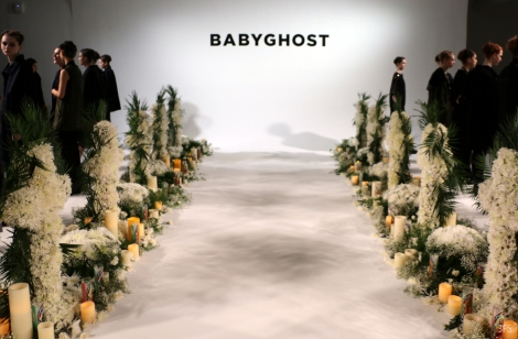 nyfw new york fashion week babyghost made by milk milkmedia @sssourabh