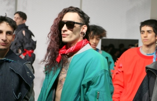 feng chen wang made by milk new york fashion week nyfw @sssourabh