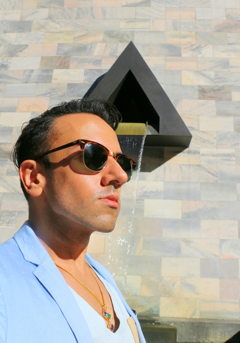 ray ban clubmasters weekend menswear @sssourabh
