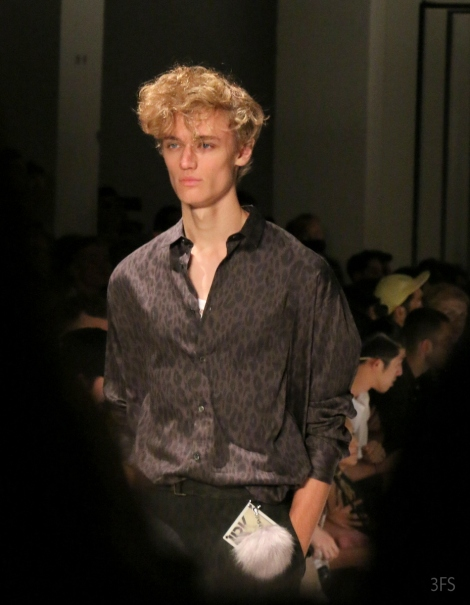 leopard print robert geller new york fashion week mens nyfwm menswear @sssourabh