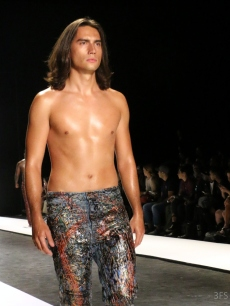 johny dar jeans for refugees new york nyfw ss17 @sssourabh