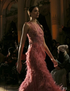 christian siriano runway new york fashion week nyfw fw17 eveningwear @sssourabh