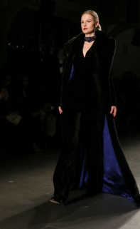 zang toi runway eveningwear new york fashion week nyfw fw17 @sssourabh