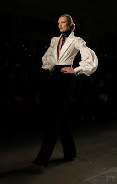 zang toi runway eveningwear new york fashion week nyfw fw17 @sssourabh