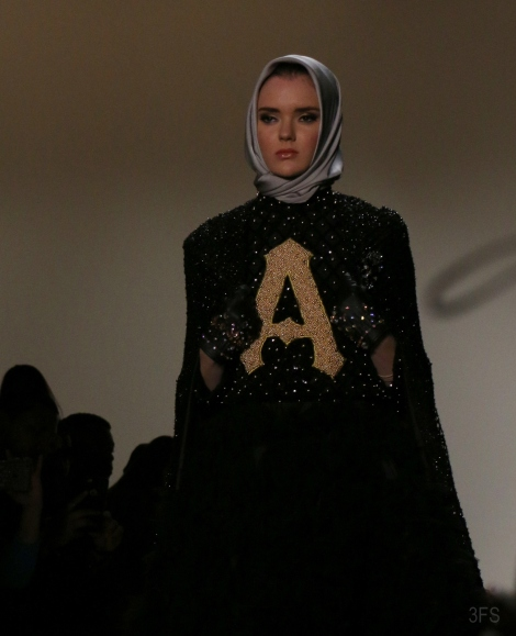 anniesa hasibuan hijab new york fashion week nyfw fw17 @sssourabh