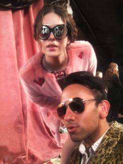alice and olivia fw17 nyfw new york fashion week runway womenswear leopard print menswear @sssourabh