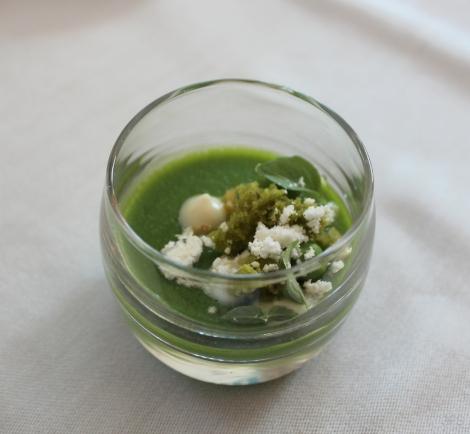 luce intercontinental hotel san francisco michelin star restaurant food review travel @sssourabh