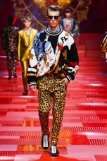 dolce gabanna ss18 mfw mmfw milan mens fashion week menswear runway @sssourabh