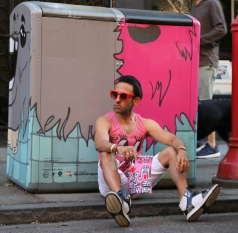 wacky wacko print all over me menswear street style art @sssourabh