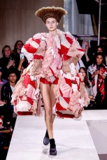 commedesgarcons ss18 pfw paris fashion week womenswear runway travel @sssourabh