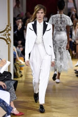 john galliano ss18 pfw paris fashion week womenswear runway travel @sssourabh