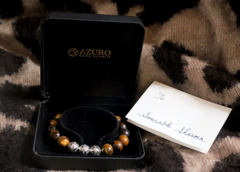 azuro menswear lookbook jewelry bracelet tigereye @sssourabh