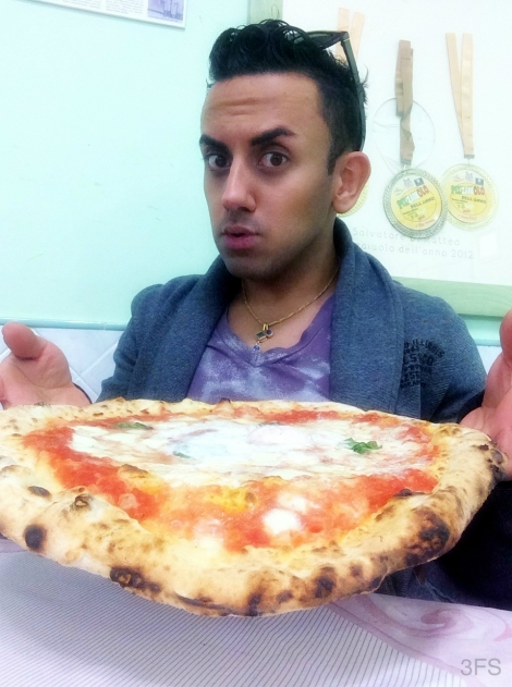 pizzeria Di Matteo napoli naples pizza foodreview food travel italy @sssourabh