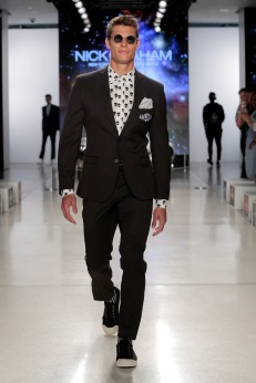 nick graham nickgraham ss19 runway menswear newyork fashion fashionweek malemodels models @sssourabh