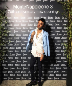 70th anniversary opening of Herno Milan Milano MFW
