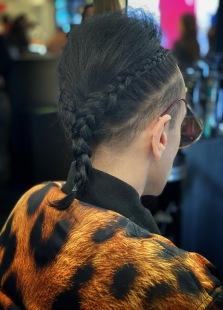 christiancowan fw20 nyfw newyork fashion fashionweek womenswear @sssourabh tressemme hair menswear leopard paom printalloverme print all over me