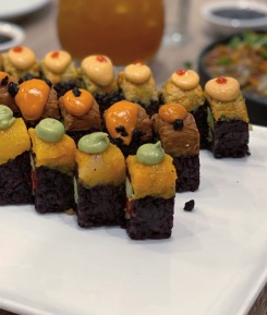 beyond sushi beyondsushi vegan veganism veganfood vegansushi food review foodreview foodcritic newyork travel