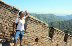greatwallofchina china hiking wall of china wallofchina lunarnewyear travel